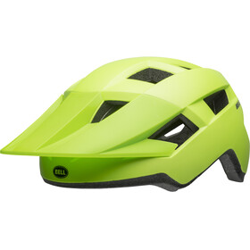 Bell Spark Helmet Kinder matte bright green/black